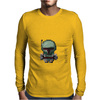 Boba Fett (white) Mens Long Sleeve T-Shirt