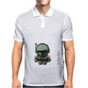Boba Fett (white) Mens Polo