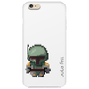 Boba Fett (white) Phone Case