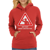Body Under Construction Road Sign Womens Hoodie