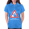 Body Under Construction Road Sign Womens Polo