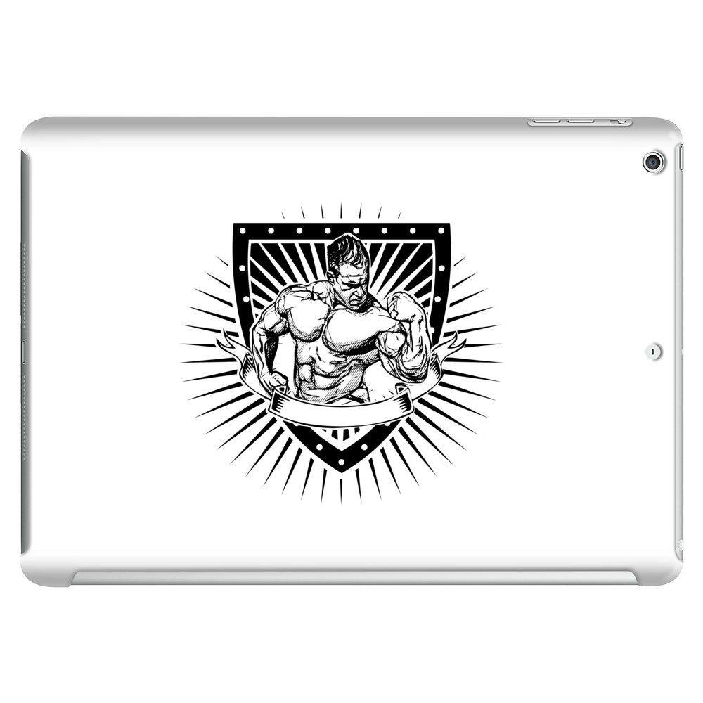 bodybuilder shield Tablet (horizontal)