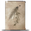 Bohemian Feathers Tablet (vertical)