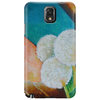 Bold White Flowers Phone Case