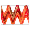 Bold Zig Zag Orange Design Tablet (horizontal)