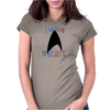Boldly Go Womens Fitted T-Shirt