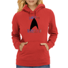 Boldly Go Womens Hoodie