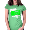 Bomb Has Been Planted Womens Fitted T-Shirt