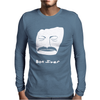 Bon Iver face Mens Long Sleeve T-Shirt