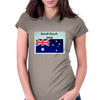 Bondi Beach  Womens Fitted T-Shirt