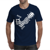 Bone Sign Guitar Mens T-Shirt
