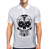 Bonita Calavera Black Mexican Skull Series Mens Polo