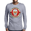 Bonita Calavera Street Wear the Mexican Skull Mens Long Sleeve T-Shirt