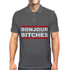 Bonjour Bitches Mens Polo