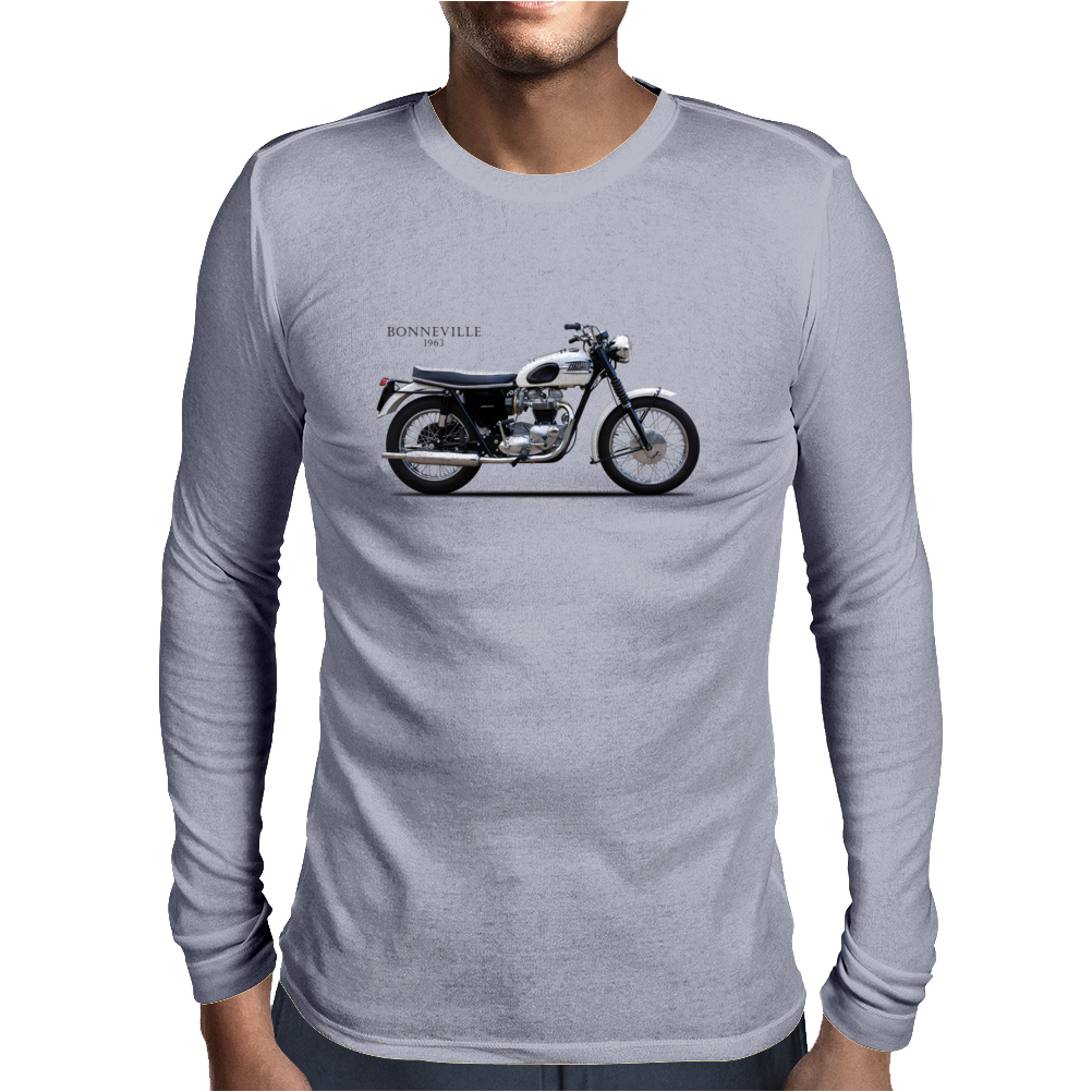 Bonneville 1963 Mens Long Sleeve T-Shirt