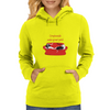 Bonny Graphics 'Greyhound make great pets' design Womens Hoodie