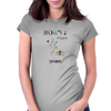 Bonr 2 fight by Dryer Womens Fitted T-Shirt