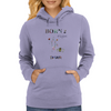 Bonr 2 fight by Dryer Womens Hoodie