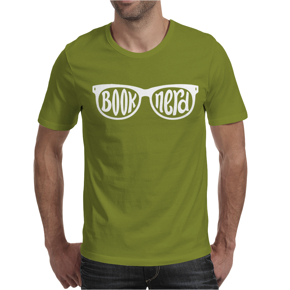 Book Nerd Mens T-Shirt
