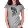 Boom Bot Womens Fitted T-Shirt