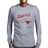 Boomstick Body Wax Your Rod Daily Mens Long Sleeve T-Shirt