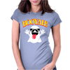 Booyah Ghost Horror Womens Fitted T-Shirt