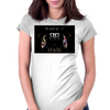 Born 2 B2 Womens Fitted T-Shirt