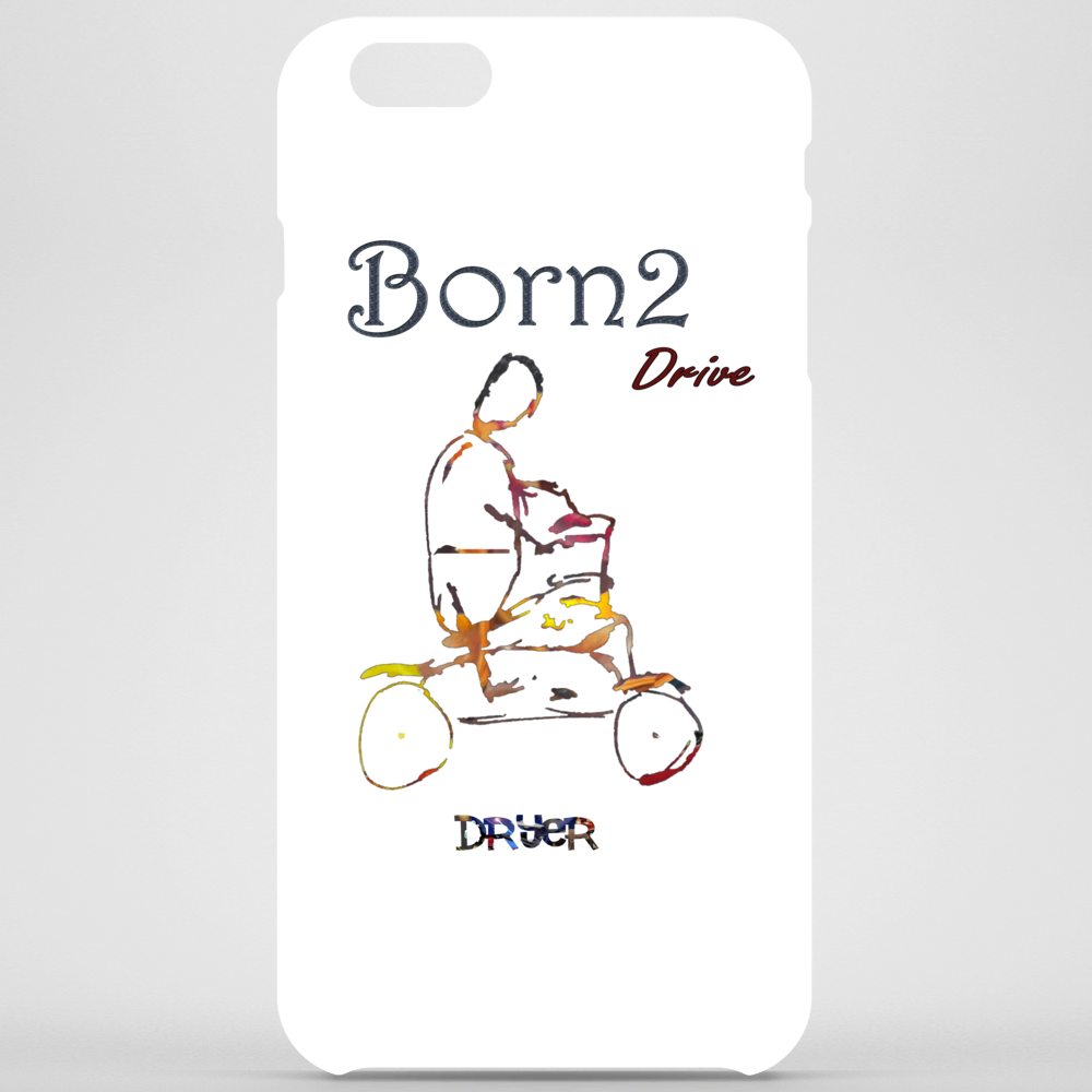 Born 2 drive by Dryer Phone Case