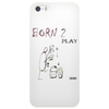 Born 2 play by Dryer Phone Case