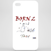 Born 2 pray by Dryer Phone Case