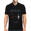 Born 2fence Mens Polo
