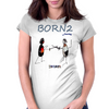 Born 2fence Womens Fitted T-Shirt