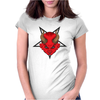 Born Against Womens Fitted T-Shirt