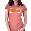 Born For Telemark Skiing Womens Fitted T-Shirt