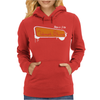 Born For Telemark Skiing Womens Hoodie