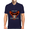 Born Free Ride Hard Mens Polo
