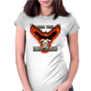 Born Free Ride Hard Womens Fitted T-Shirt