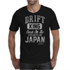 Born In Japan Blue Red Black Mens T-Shirt