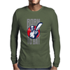 BORN TO BAT Mens Long Sleeve T-Shirt