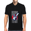 BORN TO BAT Mens Polo