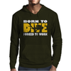 Born To Dive Forced To Work Mens Hoodie