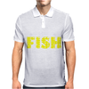 Born To Fish Forced To Work Mens Polo