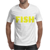 Born To Fish Forced To Work Mens T-Shirt