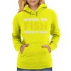 Born To Fish Forced To Work Womens Hoodie