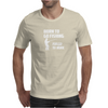 Born to Go Fishing Forced To Work Mens T-Shirt