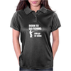 Born to Go Fishing Forced To Work Womens Polo