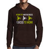 Born To Motocross Forced To Work Mens Hoodie