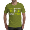 Born To Motocross Forced To Work Mens T-Shirt