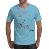 Born to play keyboards by Dryer Mens T-Shirt