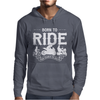 Born To Ride Funny Mens Hoodie